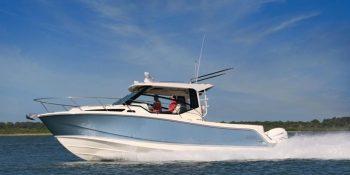 Boston Whaler 325 Conquest, le renouveau d'un modèle phare de la gamme.